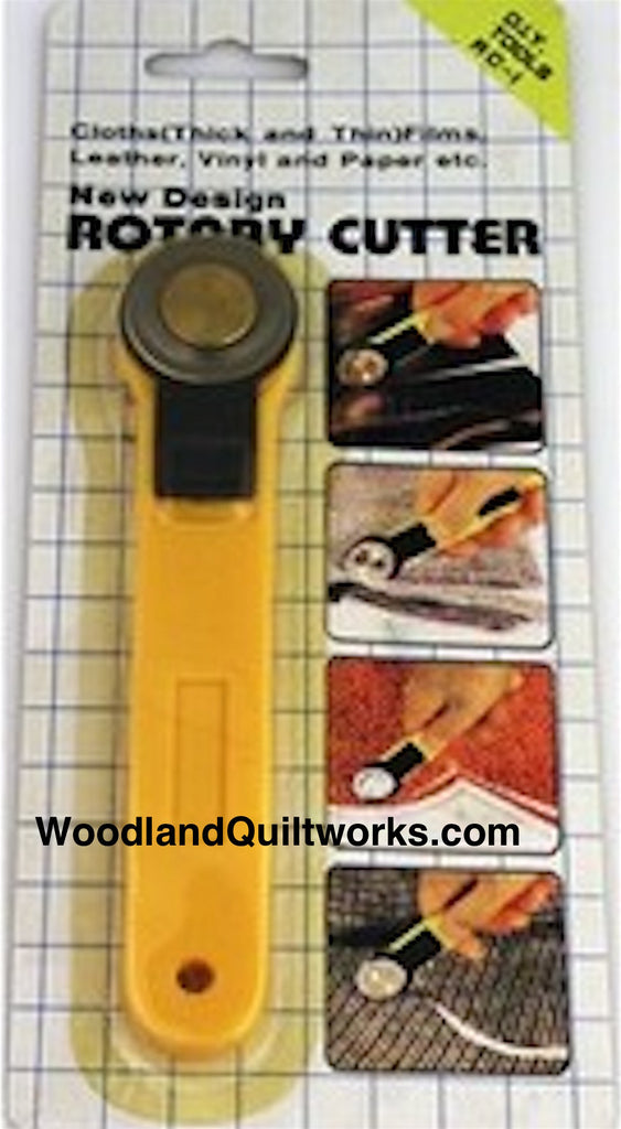 D.I.Y. Tools 28mm Rotary Cutter - Woodland Quiltworks, LLC