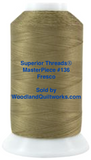 Superior Threads® MasterPiece #136 Fresco #50/3-Ply 2,500 Yard Cone.