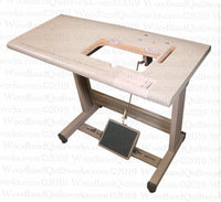 Complete Table for Stingray Chainstitch Machine - Woodland Quiltworks, LLC