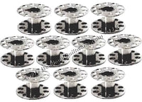 Metal Bobbins - 15 Class (10) - Brother, Kenmore, New Home, Pfaff, Singer - Woodland Quiltworks, LLC