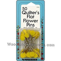Flower Head Pins for Quilting and Embroidery - Woodland Quiltworks, LLC