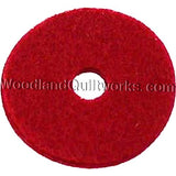 Spool Pin Felts Red or White - Woodland Quiltworks, LLC