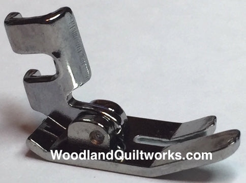Straight Stitch (Wide Scant) Foot - Low Shank Machines - Woodland Quiltworks, LLC