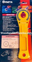 META 45mm Rotary Cutter - Woodland Quiltworks, LLC