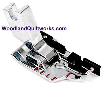"1/4"" Quilting Foot with Spring - Slant Shank Machines - Woodland Quiltworks, LLC"
