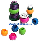 PEELS Thread Spool Wraps (12 Piece Bag) - Woodland Quiltworks, LLC
