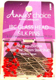 Quilting Glass Head Pins