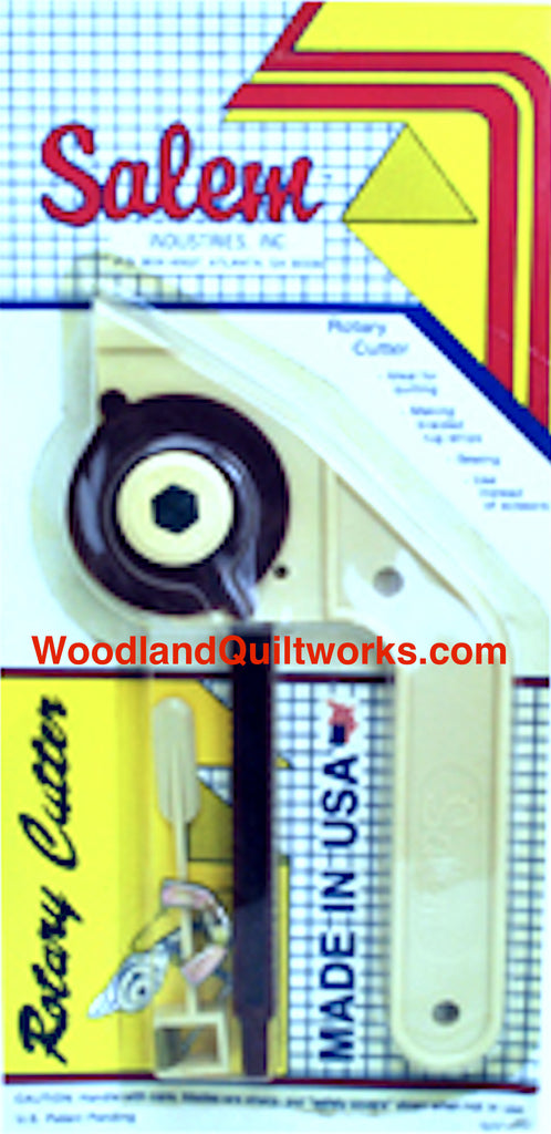 Rotary Cutter with Adjustable Side Arm by Salem Industries, Inc - Woodland Quiltworks, LLC