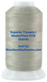 Superior Threads® MasterPiece #156 Granite #50/3-Ply 2,500 Yard Cone.