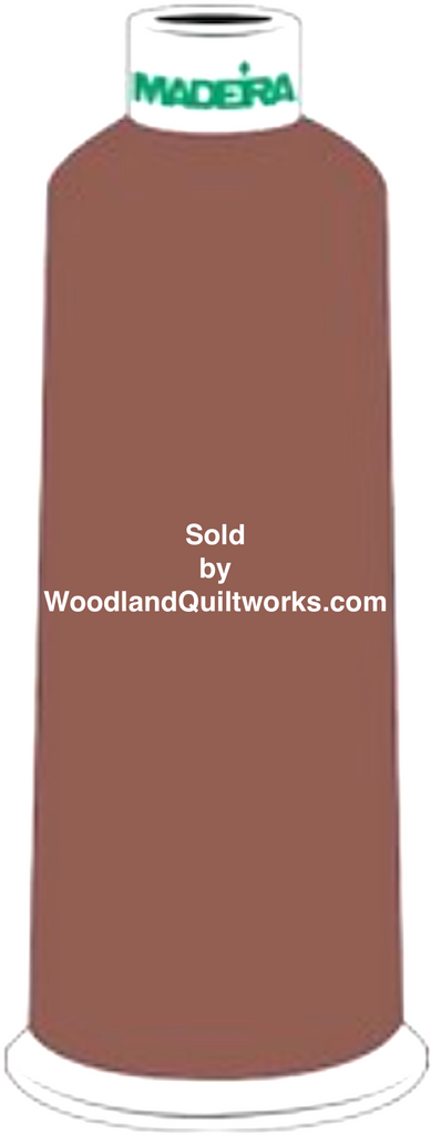 Madeira Burmilana Wool #12 Thread : Color 813-3843 Brown - Woodland Quiltworks, LLC