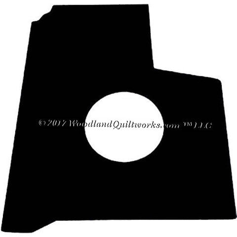 Singer Featherweight 221 Oil Drip Pad - Woodland Quiltworks, LLC