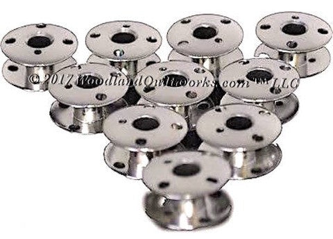 Singer 66 Sewing Machine Bobbins - Metal