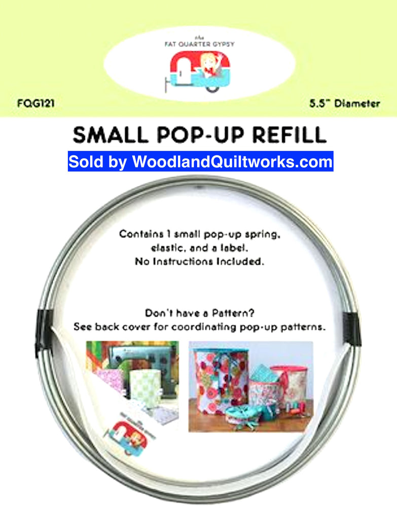 "Small Pop-Up Pattern Refill Spring 5.5"" - Woodland Quiltworks, LLC"