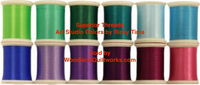 Superior Threads® Art Studio Colors by Ricky Tims - Flower Garden Set 12 Spools from the #300 Series