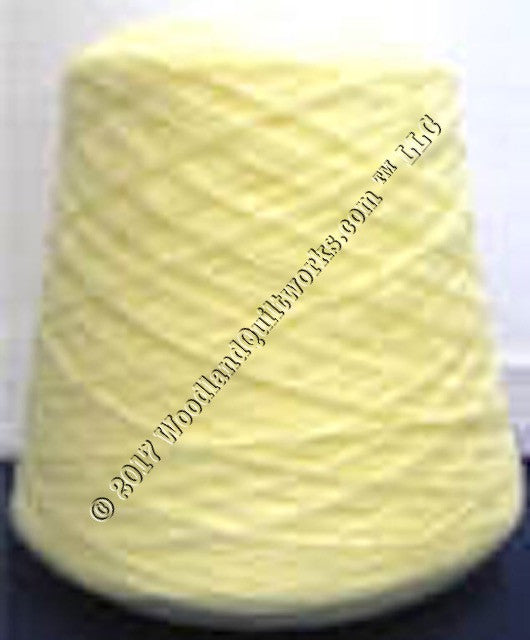 Knitting / Crochet Yarn - Tamm 3 Ply Astracryl T1203 LIGHT YELLOW - Woodland Quiltworks, LLC