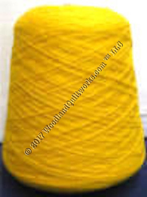Knitting / Crochet Yarn - Tamm 3 Ply Astracryl T1205 BRIGHT YELLOW - Woodland Quiltworks, LLC