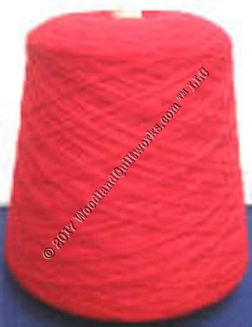 Knitting / Crochet Yarn - Tamm 3 Ply Astracryl T1240 RED - Woodland Quiltworks, LLC