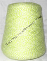 Knitting / Crochet Yarn - Bebe Tamm Color Combos & Variegated T3715 LIME & WHITE - Woodland Quiltworks, LLC