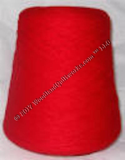 Knitting / Crochet Yarn - Bebe Tamm Solids T3745 RED - Woodland Quiltworks, LLC