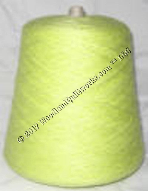 Knitting / Crochet Yarn - Bebe Tamm Solids T3785 LEMON GREEN - Woodland Quiltworks, LLC