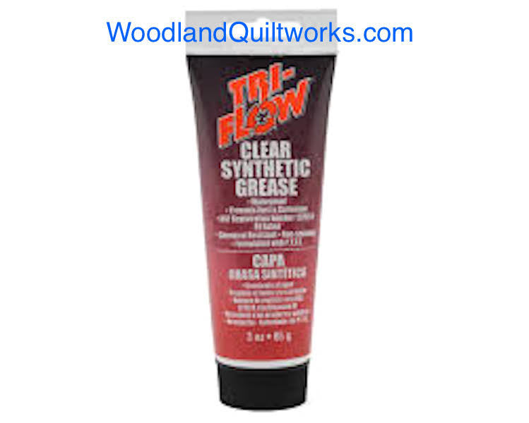 Tri-Flow Clear Synthetic Grease w/ Teflon 3oz Tube - Woodland Quiltworks, LLC