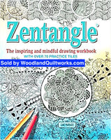 Zentangle Coloring Book by Jane Marbaix - Woodland Quiltworks, LLC