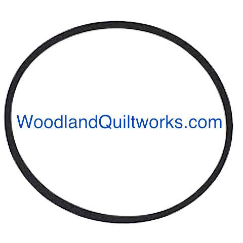 "Sewing Machine Motor V Belt 13-3/4"" Non-Cleated - Woodland Quiltworks, LLC"