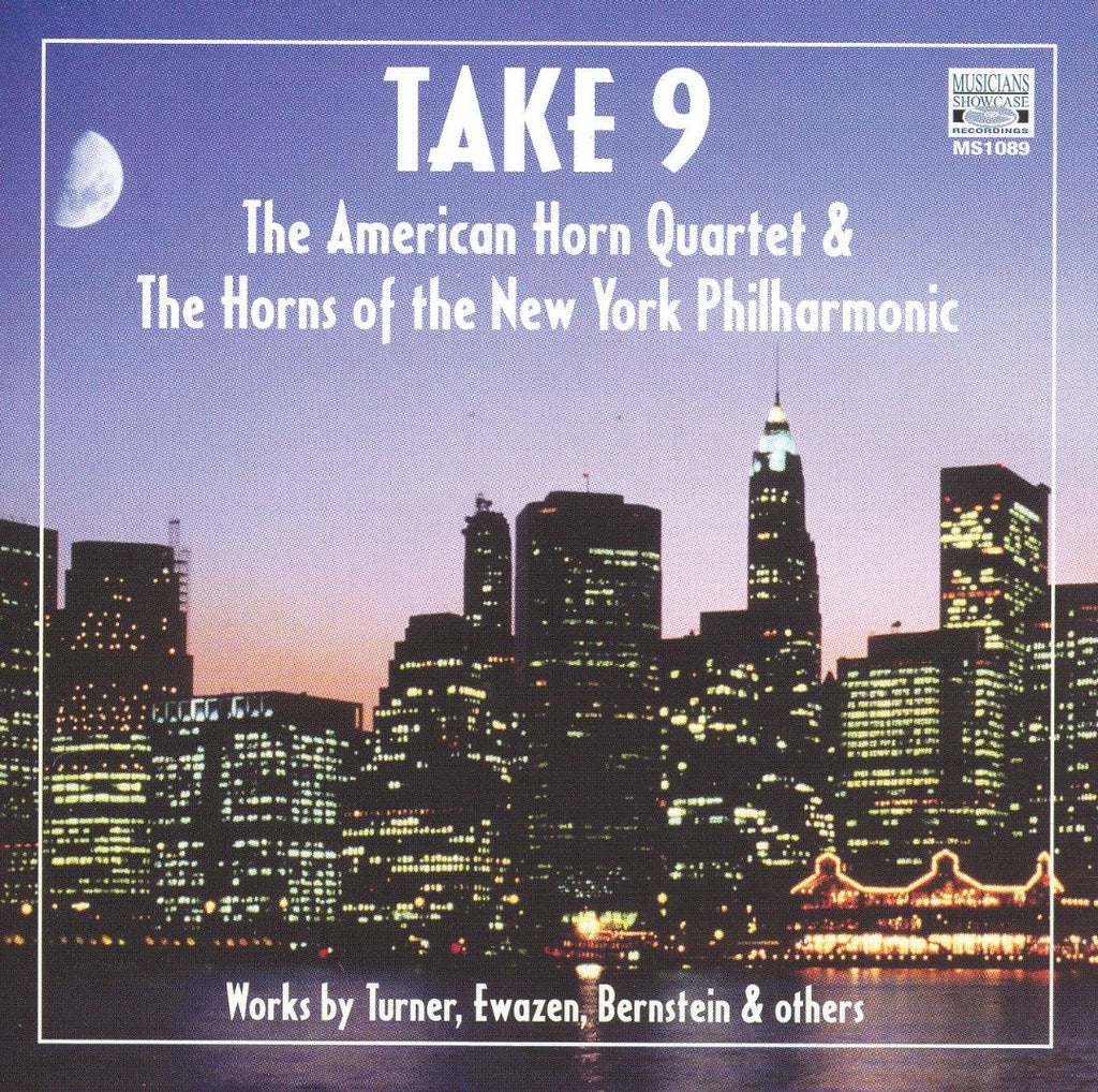 TAKE 9, the American Horn Quartet and the Horns of the New York Philharmonic