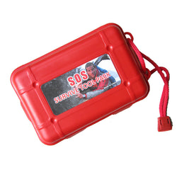 Military Outdoor Survival Kit SOS First Aid Kits Box Self-help Emergency Equipment