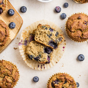 Plant Protein + - Macro Mike - Blueberry & Cinnamon Oat Muffins | MAK Fitness