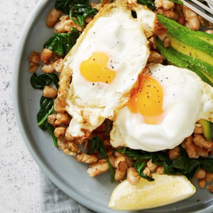 White Bean Breakfast Hash