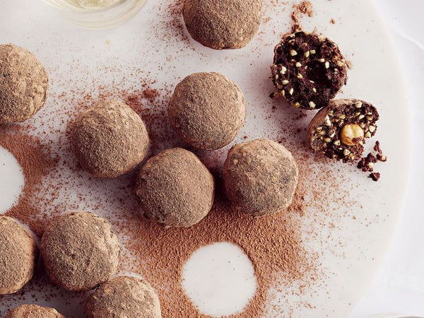 Healthy Ferrero Rocher Protein Balls - Amino Charged WPI by International Protein | MAK Fitness