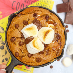 Smores Skillet Cookie - Macro-Friendly Cookie Mixes - Macro Mike | MAK Fitness