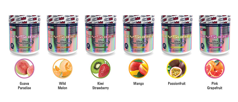 OxyShred Flavours