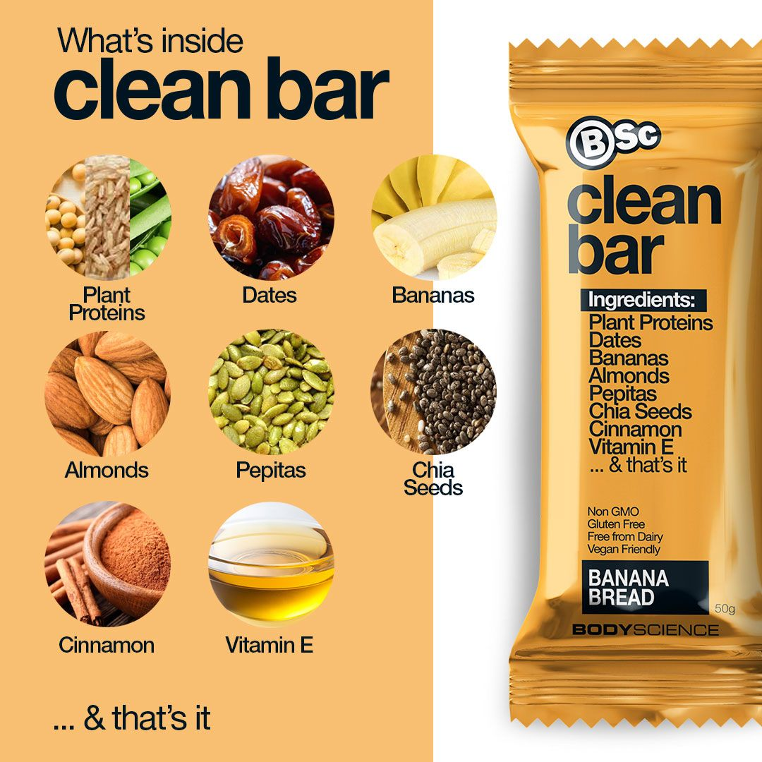 Body Science Clean Bars