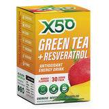 Green Tea + Resveratrol (30 serves) - X50 | Mango