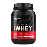 Gold Standard 100% Whey - 907g - Cookies & Cream - Optimum Nutrition | MAK Fitness