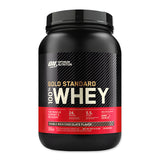 Gold Standard 100% Whey - 907g - Double Rich Chocolate - Optimum Nutrition | MAK Fitness