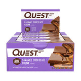 Quest Bar Box of 12 - Caramel Chocolate Chunk - Quest Nutrition | MAK Fitness