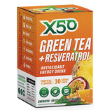 Green Tea + Resveratrol (30 serves) - X50 | Tropical