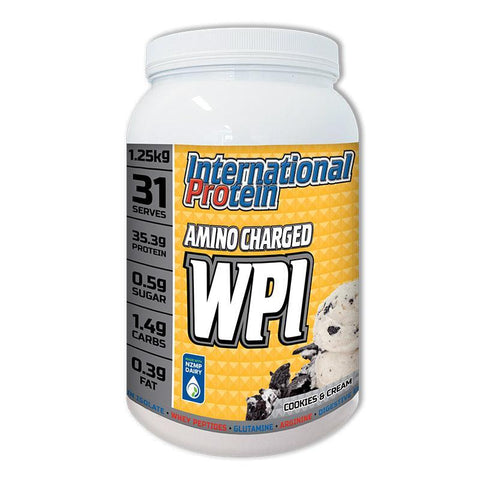 Amino Charged WPI by International Protein | MAK Fitness