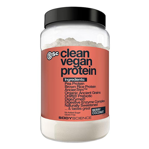 Clean Vegan Protein by BSc | MAK Fitness