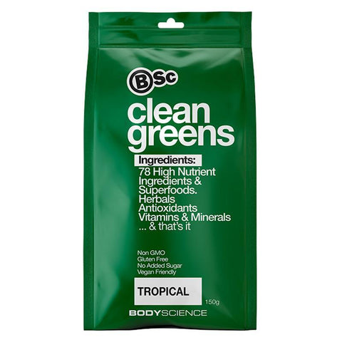 Clean Greens by BSc | MAK Fitness