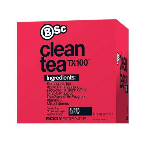 Clean Tea TX100 by BSc | MAK Fitness