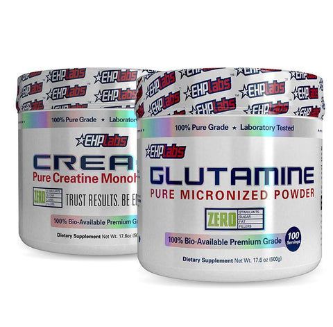 Glutamine + Crea8 by EHPlabs | MAK Fitness