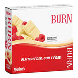 Burn Bar Box of 12 - White Choc Raspberry - Maxine's | MAK Fitness