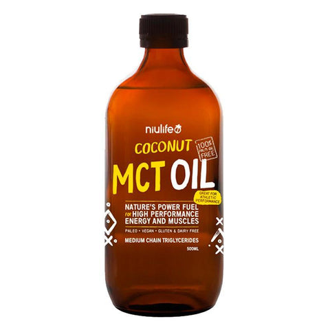 Coconut MCT Oil by Nuilife | MAK Fitness