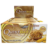 Quest Protein Bars (Box of 12) - Banana Nut Muffin - Quest Nutrition | MAK Fitness