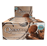 Quest Protein Bars (Box of 12) - Double Chocolate Chunk - Quest Nutrition | MAK Fitness