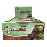 Quest Protein Bars (Box of 12) - Mint Chocolate Chunk - Quest Nutrition | MAK Fitness